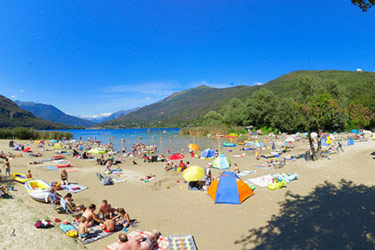 Strand vom Camping Continental Lido