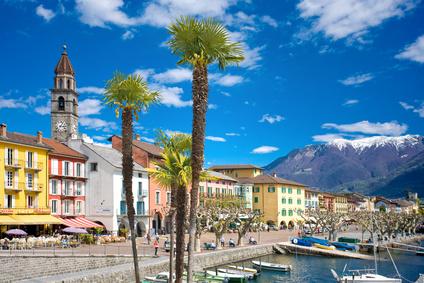 Lago Maggiore Karte Mit Orten.Orte Am Lago Maggiore