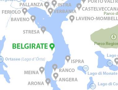 Lago Maggiore Karte.Belgirate Lago Maggiore