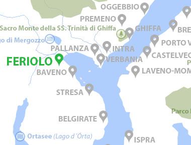 Lago Maggiore Karte.Feriolo Lago Maggiore