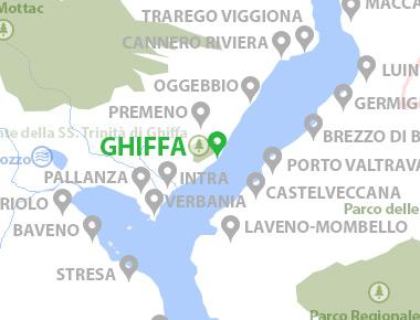 Karte Lago Maggiore Und Umgebung.Ghiffa Lago Maggiore