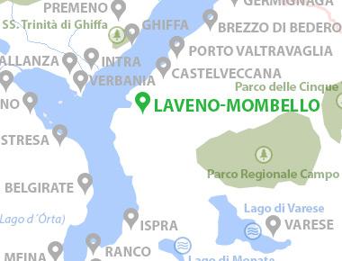 Lago Maggiore Karte.Laveno Mombello Lago Maggiore