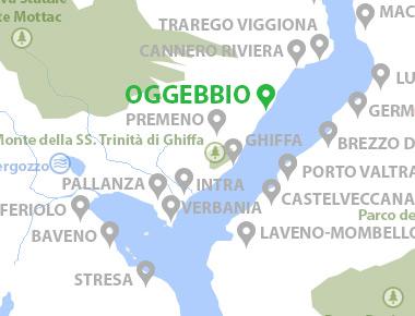 Lago Maggiore Karte.Oggebbio Lago Maggiore